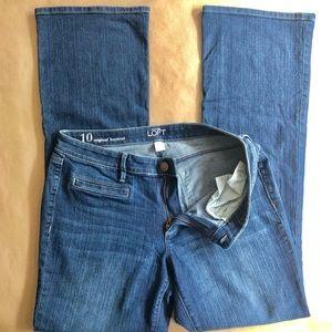 Loft Original Boot Cut Jeans- Size 10